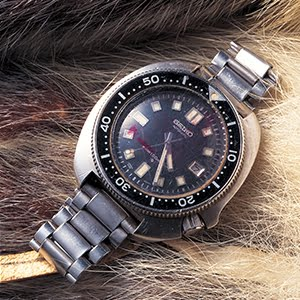 Alkuperäinen Seiko Diver 6105-8110