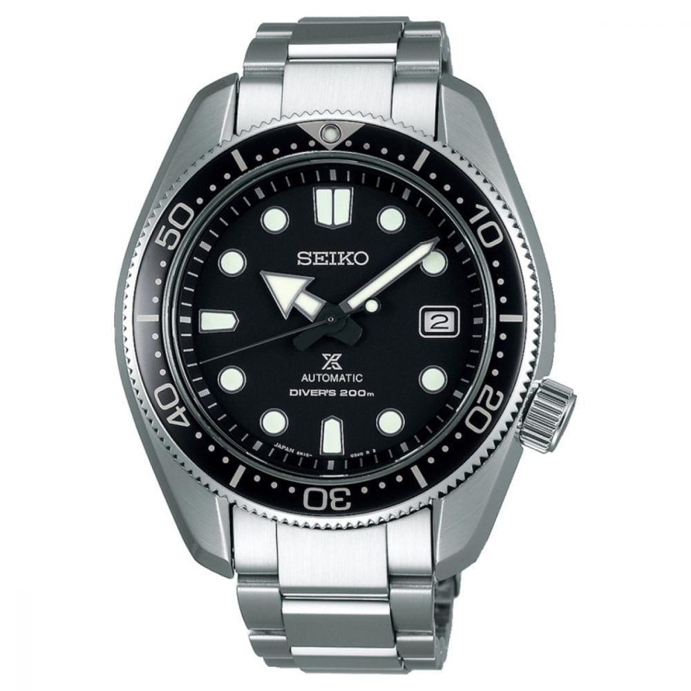 Seiko Elite Prospex Modern Re-interpretation of 1968 Automatic Diver's SPB077J1