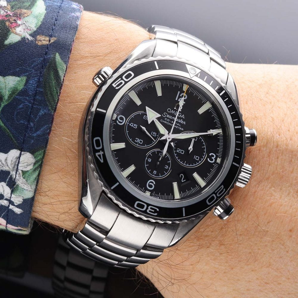 Omega Seamaster Planet Ocean 600M Co-Axial Chronograph 45,5MM 2210.50.00