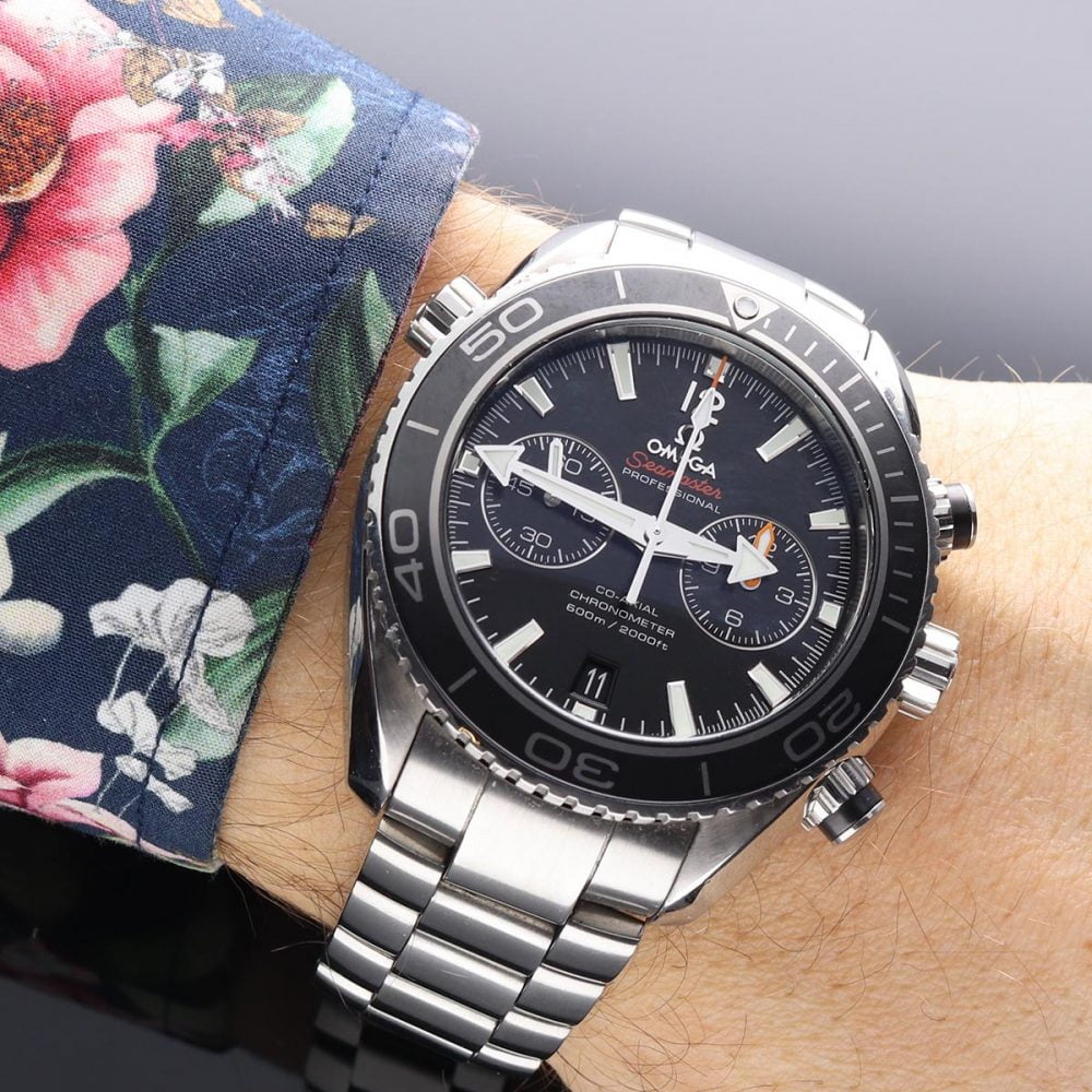 Omega Seamaster Planet Ocean 600M Co-Axial Master Chronometer Chronograph 45,5MM 232.30.46.51.01.001